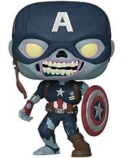 Funko Pop! Marvel: What If? - Zombie Captain America Multicolor 57375