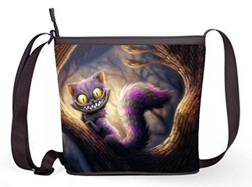 Sling in In Wonderland Bag Popular and Alice Bag Wonder Bag07 Shoulder Bag with Fashion Alice Casual Female Theme Sling Crossbody 0aIOc7qx