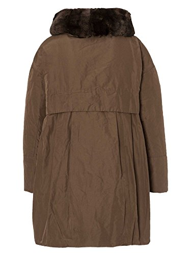 JET SET Abrigo de plumón Jenny Fur ropa de esquí Mujer marrón