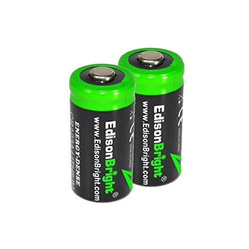 Fenix HL55 900 Lumen CREE XM L2 T6 LED Headlamp with 2 X EdisonBright CR123A Lithium batteries