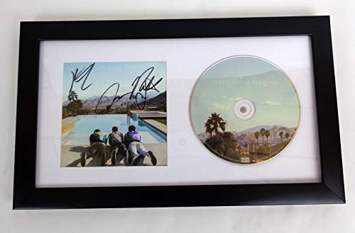 The Jonas Brothers Sucker Signed Autograph Happiness Begins CD Framed COA