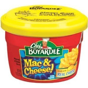 - CHEF BOYARDEE PASTA MAC MACARONI & CHEESE 7.5 OZ