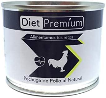 Diet Premium Pechuga de pollo al natural - 100 gr: Amazon.es ...