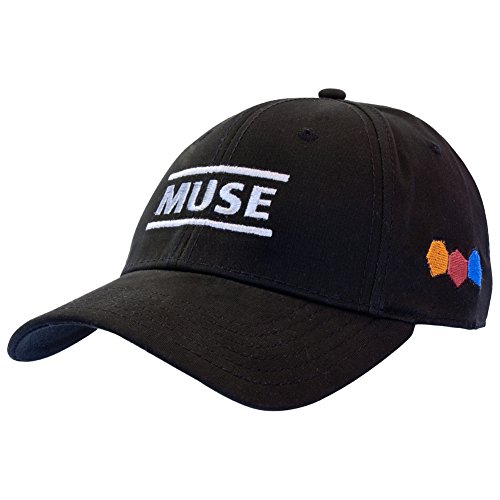 Muse Rock Band (Muse - Resistance Fitted Cap Large/X-Large Black)