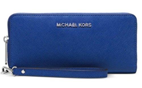 MICHAEL Michael Kors Jet Set Travel Continental Electric - Blue Kors Michael