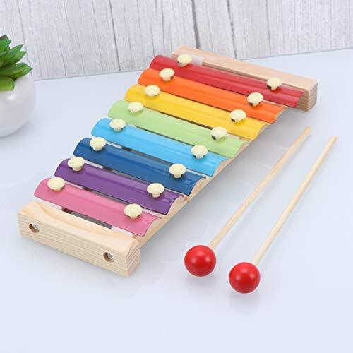 Toyvian Bebé Xilófono de Madera Piano para Niños Niños