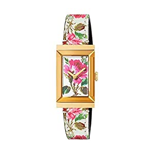 ccbaeb7575e9f Michele Womens Sidney Two-Tone and Saddle Leather Diamond Dial Watch ...