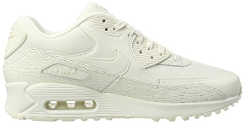 detailed look fa86d 2e0e4 Amazon.com  Nike Womens Air Max 90 PRM LEA Running Trainers 904535 Sneakers  Shoes (US 9.5, sail Light Bone White 100)  Sports   Outdoors