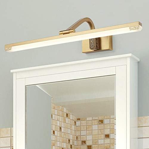 &Lampada frontale a specchio a LED LED della moda di New Design Specchio Front Light for il bagno Comodino moderno Lampade da parete specchio luce (Color : Neutral light)