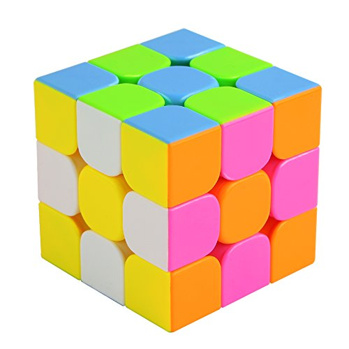 Speed-CubeUROPHYLLA-Speed-Magic-Cube-Stickerless-Cube-Turns-smoothly-Super-durable-with-Vivid-Colors-Best-Christmas-Gift-for-6-years-up
