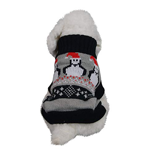Glumes Pet Clothes, Christmas Costumes Puppy Woolen Sweater