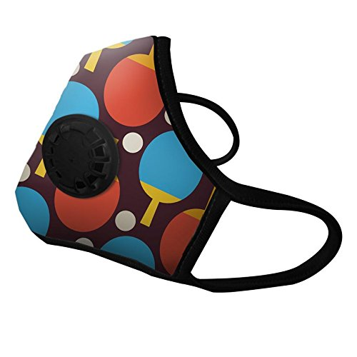 Vogmask Ping Pong N99CV with Exhale Valve (Small 30-60 Pounds /14-27 Kilos)
