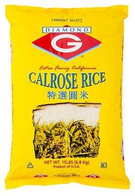 Diamond G Calrose Rice 15lb ()