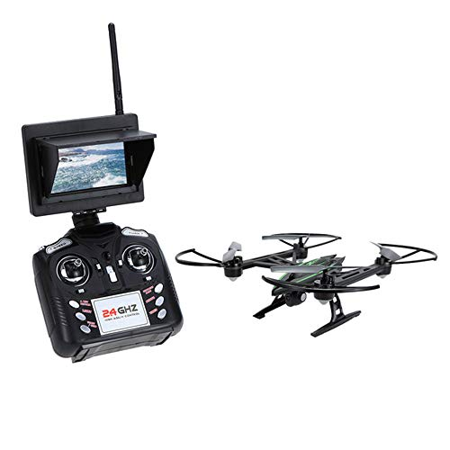 Drone and Camera, 720P HD Camera HD Aerial Photography 5.8G map Transmission 2.4Ghz Remote Control WiFi APP Mobile Phone Control GPS Positioning one-Button Return Aircraft, Four-axis Drone (Photography Map Aerial)