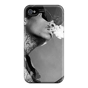 SherriFakhry Iphone 6 Protective Hard Phone Covers Unique Design High Resolution Wiz Khalifa Image [KIl6609Cpix]