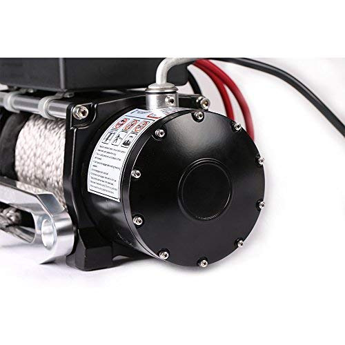 OFFROAD BOAR Synthetic Rope Waterproof Winch - 13000 lb. Load Capacity by OFFROAD BOAR (Image #2)