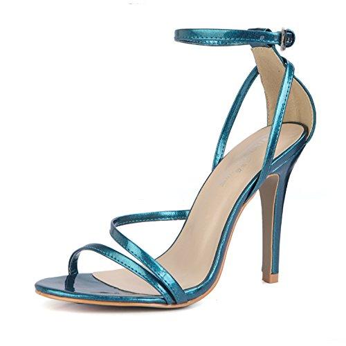 qui femmes attrayant talons et banquet Rouge Zhznvx Trellis à Women Sexy Summer État été perle hauts chaussures ceintures nouvelles Sandals xvBfRqv7wZ