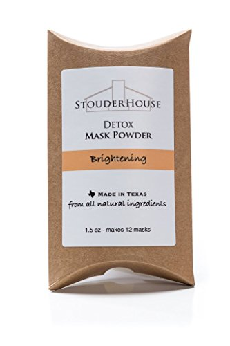 Brightening Detox Mask Powder - makes 12 masks by StouderHouse