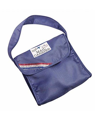 Forum Novelties 80899 Unisex-Adults Child Mail Carrier Bag, Blue, Standard, Multicolor -