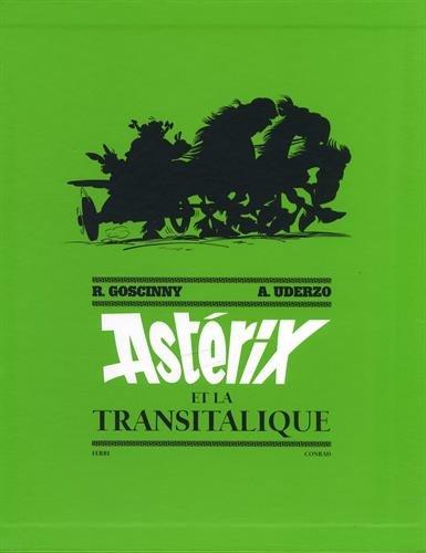 Asterix, Tome 37 : Astérix Et La Transitalique. Artbook : Coffret Avec 12 Ex-Libris