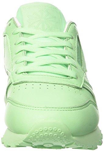 Green Sneakers Rose Mint Vert Reebok White LTHR Cl Femme Pastels tT8aq