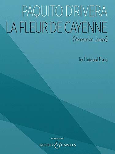 La Fleur de Cayenne (Venezuelan Joropo): For Flute and Piano