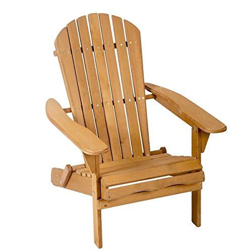 Red Cedar Adirondack Rocking Chair - ColorsShop Outdoor Wood Adirondack Chair Garden Furniture Lawn Patio Deck Seat