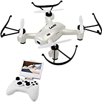 Sky Scout RC Quadcopter 5.8G FPV 2.4GHz 6Axis Drone with 2.0MP Camera High Hold Mode One Key Return 3D Flip L8HF(White)