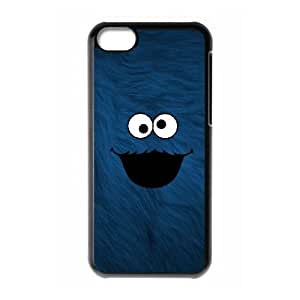 iPhone 5c Cell Phone Case Black Cookie Monster idng