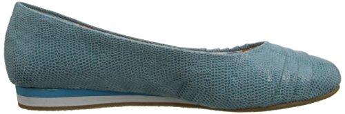 Corrie Suave plana Estilo Lizard Aqua Fabric 55qTZEwrx