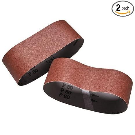12 Pack 120 Grit Sanding Belts 2-1//2 X 14 Zirconia Cloth Sander Belts