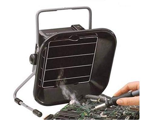 Extractor de humos de soldadura para estación de soldadura y filtro de soldadura, 220 V de escape antiestático, extractor de humos