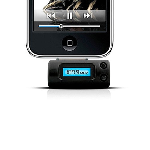 Naztech FM Stereo Transmitter - iPhone 3G/3GS, 4, and iPods Apple Iphone 3g Stereo
