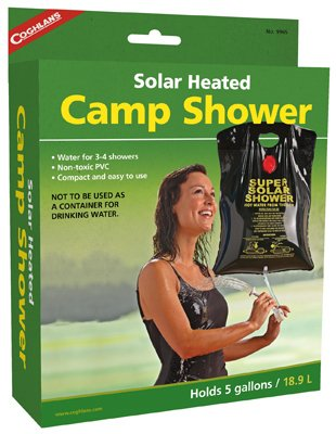 Academy Broadway Campers Solar Shower 5 Gal Pvc