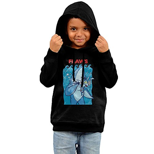 Price comparison product image 2016 Flaws Left Shark Sweatshirts 80's Black Hoodies For Your Children