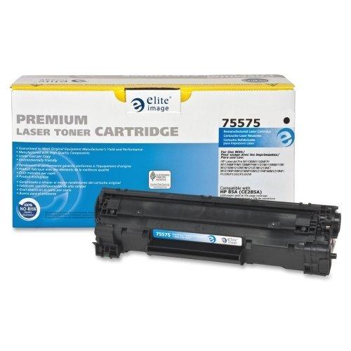Elite Image Drum Cartridge (Elite Image Remanufactured HP 85A Toner Cartridge - Black - Laser - 1600 Page - 1 Each)