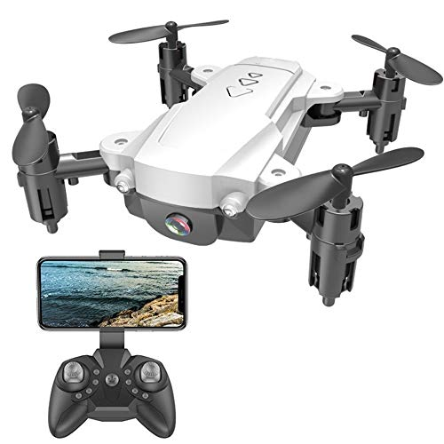 Kikioo 4K 1080P HD Camera Drone, Optical Flow Positioning Dual Cameras Smart Follow WIFI FPV Drone Remote Wide Angle…