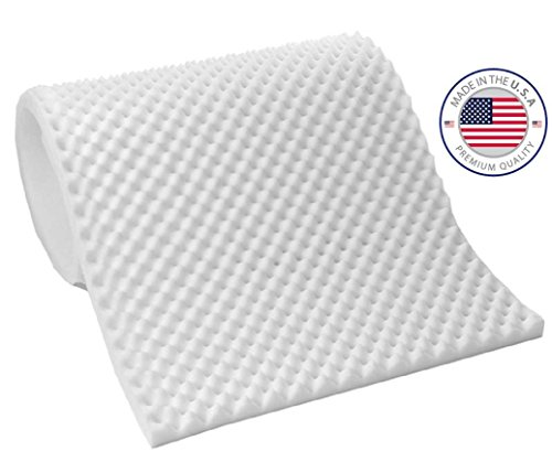 Eva Medical Egg Crate Convoluted Foam Mattress Pad - 3