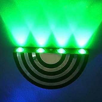 GDW Candelabro de pared LED/Mini Estilo/Bombilla Incluida Moderno/ Contemporáneo Metal , Green