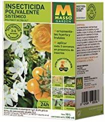 MASSO INSECTICIDA POLIVALENTE SISTEMICO 100ML: Amazon.es: Jardín