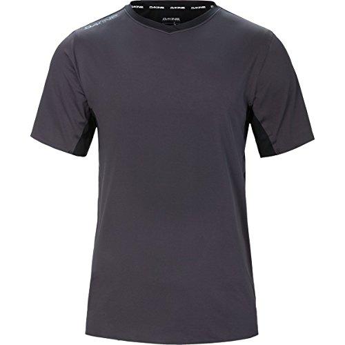 Dakine Men's Boundary Short Sleeve Bike Jersey Shirt, Shadow, Black, S