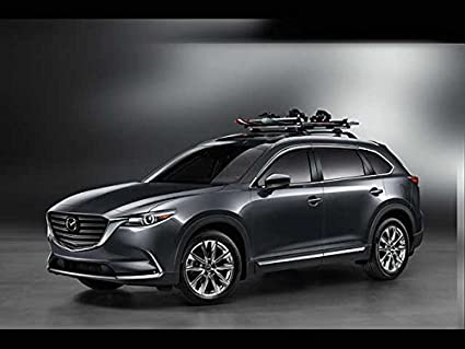 Great Mazda CX 9 2016 2017 New OEM Roof Rack Cross Bars 0000 8L