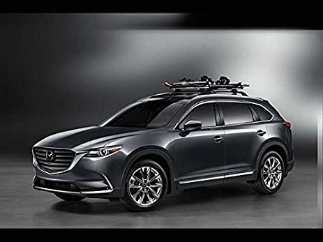 Mazda CX 9 2016 2017 New OEM Roof Rack Cross Bars 0000 8L