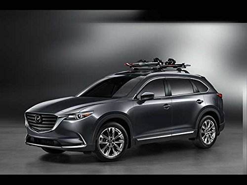 Mazda CX-9 2016-2017 New OEM Roof rack cross bars 0000-8L-N11