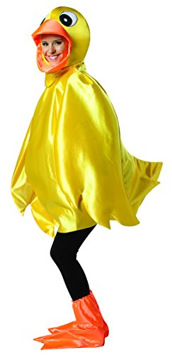 [Rasta Imposta Ducky Adult, Yellow, One Size] (Rubber Ducky Halloween Costume)