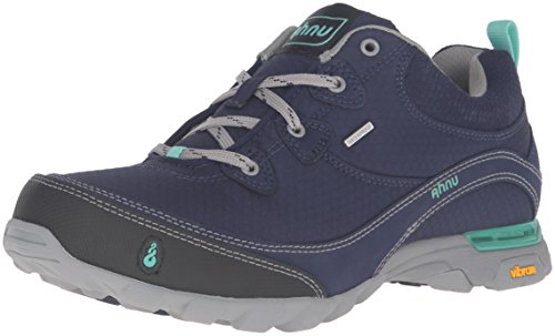 Ahnu Women's AF2421 Sugarpine Water Proof Hiking Boot, Majestic Blue, 9.5 B(M) US by Ahnu
