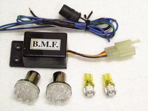LEDウインカーバルブ デジタルリレーセット シグナスX125(SE12J) B00C2PTEXU