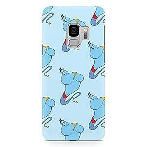 Loud Universe Genie Pattern Robin Williams Disney Samsung S9 Case Aladdin Classic Cartoon Network Samsung S9 Cover with 3d Wrap around Edges