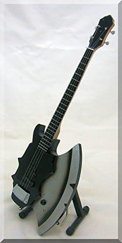 Gene Simmons en Miniatura de bajo de Guitarra besarme el Hacha ...