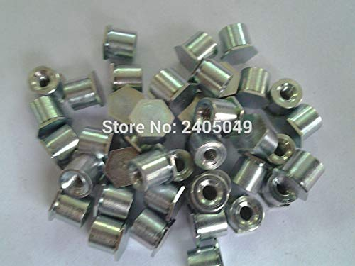 Nuts BSO-M3-6 Blind Threaded standoffs, Carbon Steel, Plating zinc,PEM Standard,in Stock,